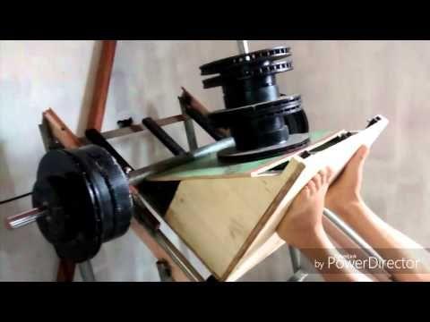 Construindo Maquina Leg Press 45 Academia Caseira Youtube