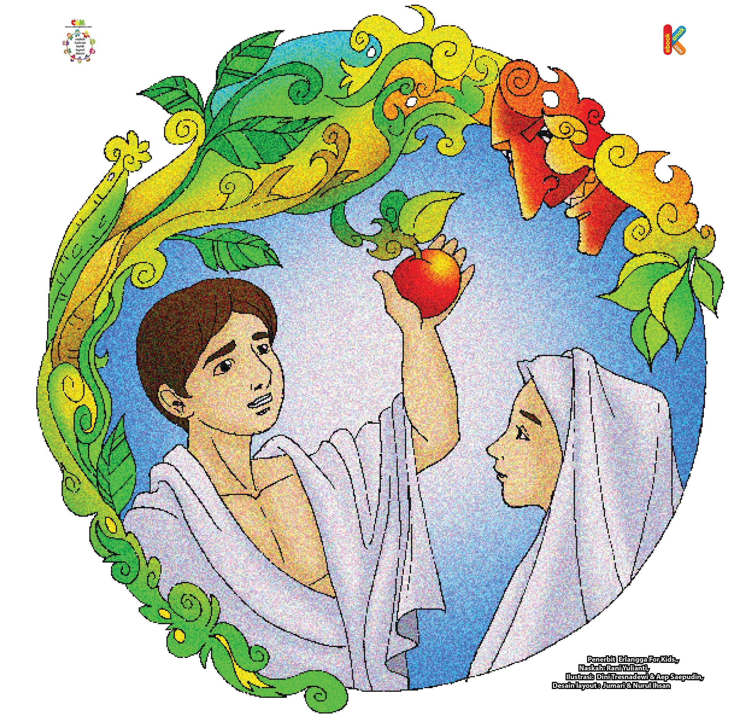 Nasihat Iblis Pada Nabi Adam Dan Hawa Dengan Gambar