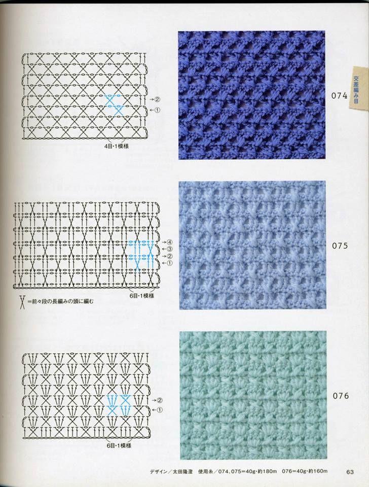 Pin de MamaJCrochet en Crochet Charts | Pinterest | Croché ...