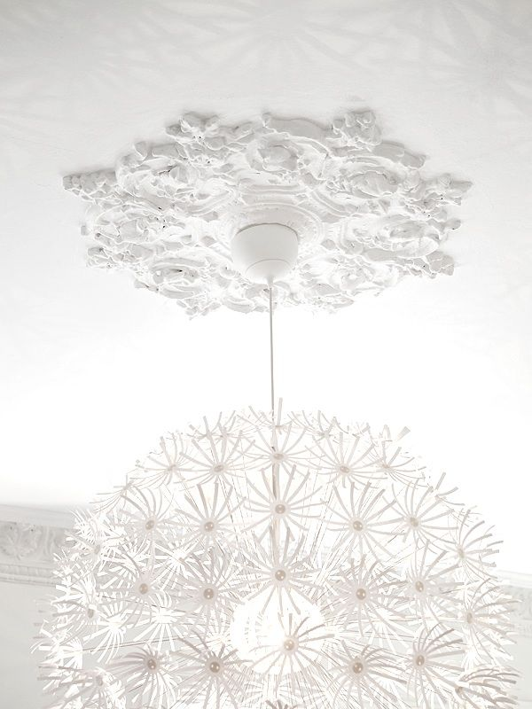 I Have This Light Now I Need The Ceiling Medallion Ceiling