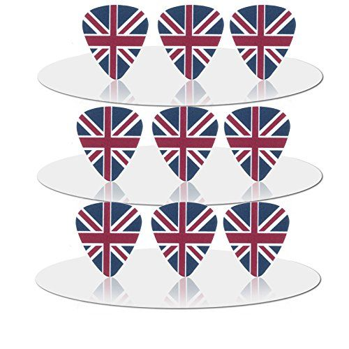 10pcs The British Flag 071 mm Guitar Picks >>> Visit the image link more details. Note:It is affiliate link to Amazon.