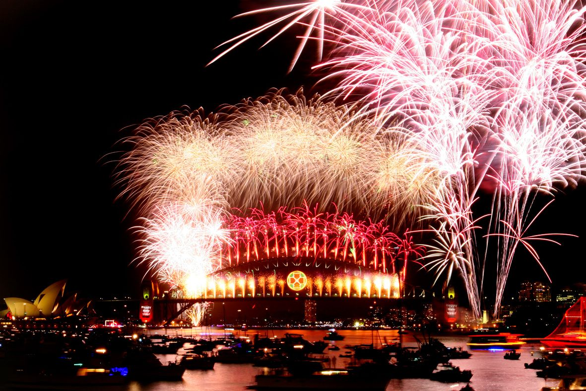 2007 Sydney New Year's Eve The Time of Our Lives. The