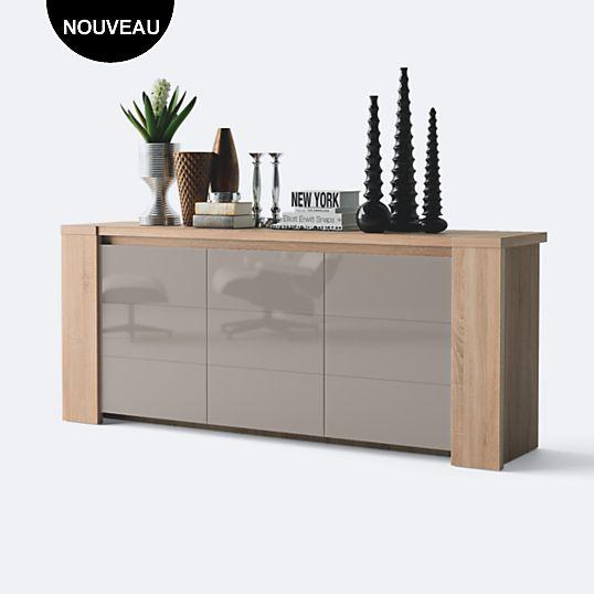 Buffet 3 Portes Danube Mobilier De Salon Meuble Sejour Maison