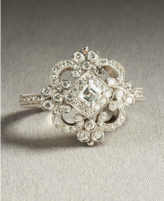 Classy little antique ring.  <3