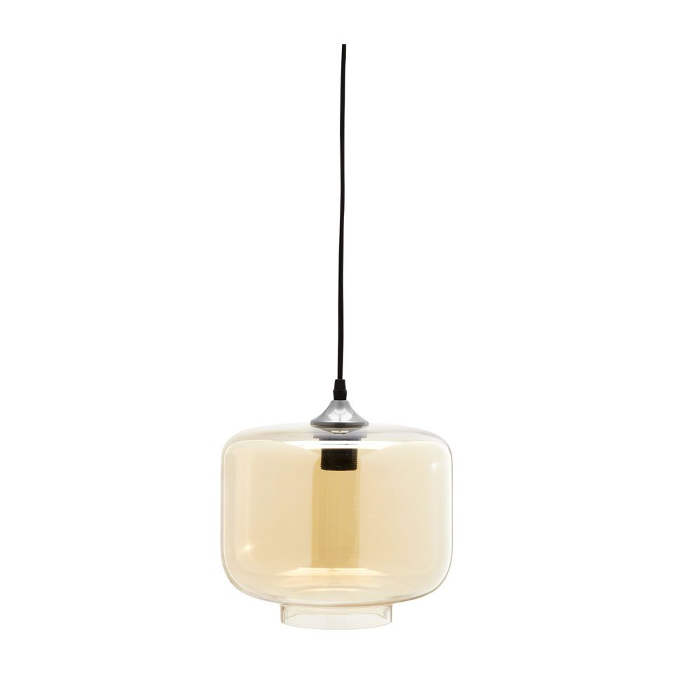 hanglamp glas edison rond cilinder xenos lampen