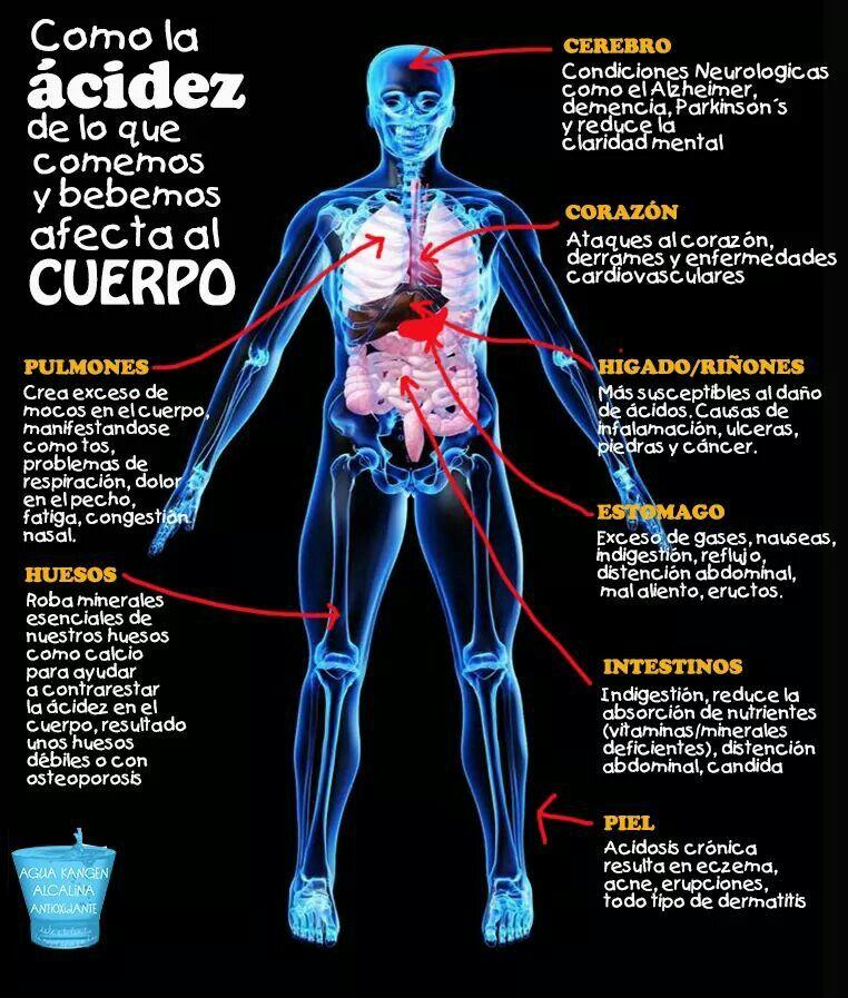 Cómo afecta la acidez