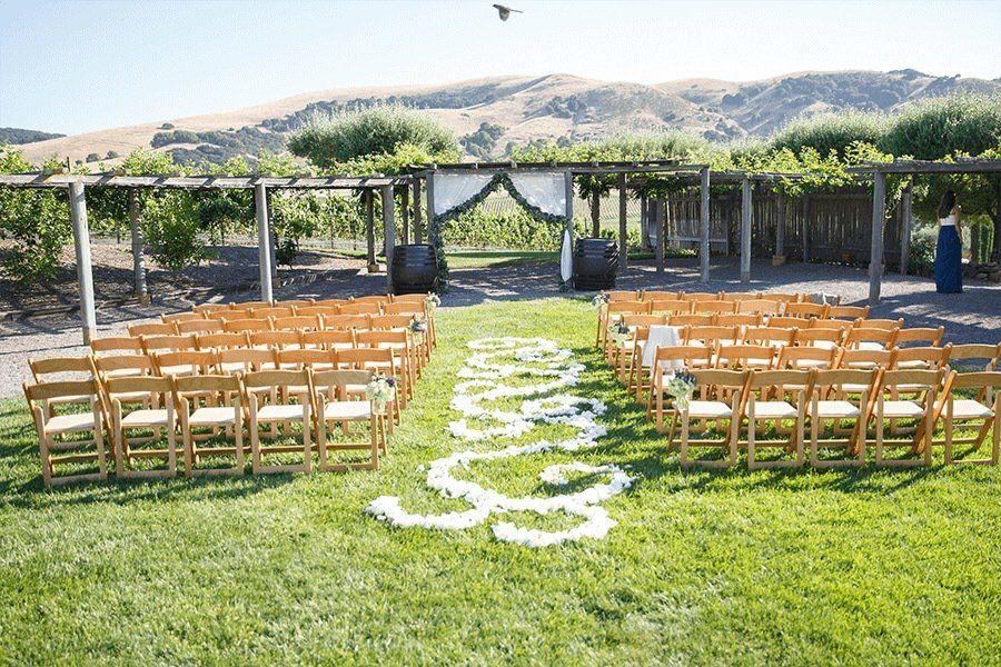 21 Amazing Outdoor Napa/Sonoma Wine Country Wedding Venues