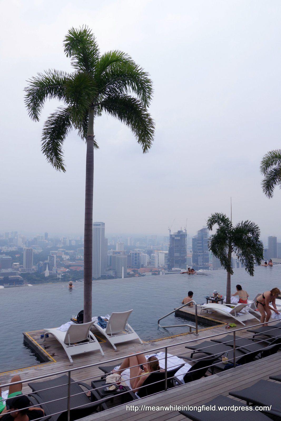 infinity pool marina bay sands singapore