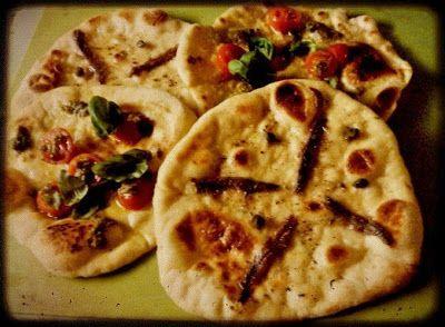 Calabrialainen Pitta-leipä