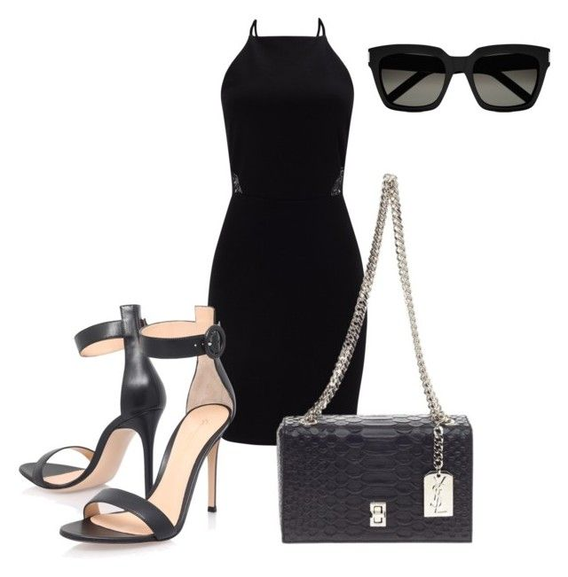 """Unbenannt #198"" by lailabalic on Polyvore featuring Mode, Miss Selfridge, Gianvito Rossi und Yves Saint Laurent"