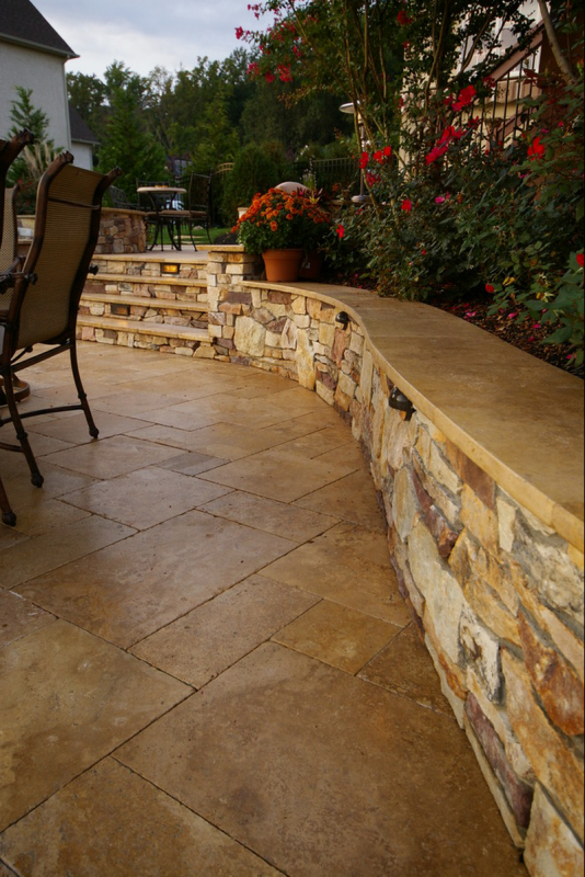 Travertine Patio | Travertine Patios In Dayton, Cincinnati And Columbus  Ohio Like To Colors And