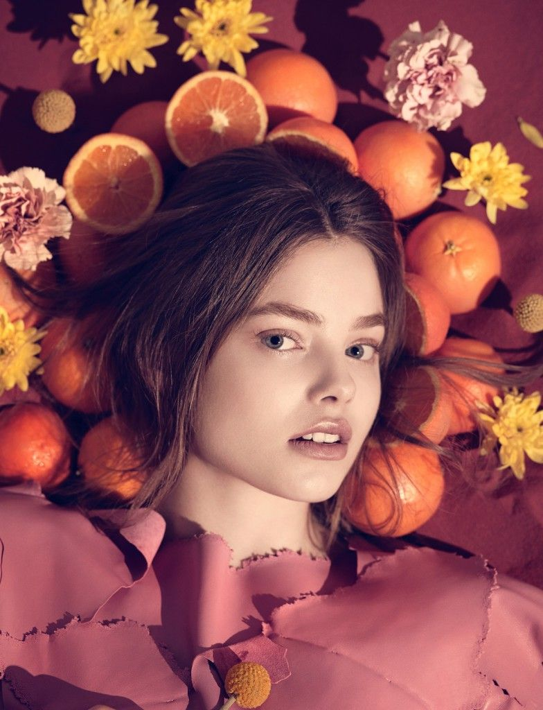 kristine froseth by karen collins for numéro tokyo may 2015