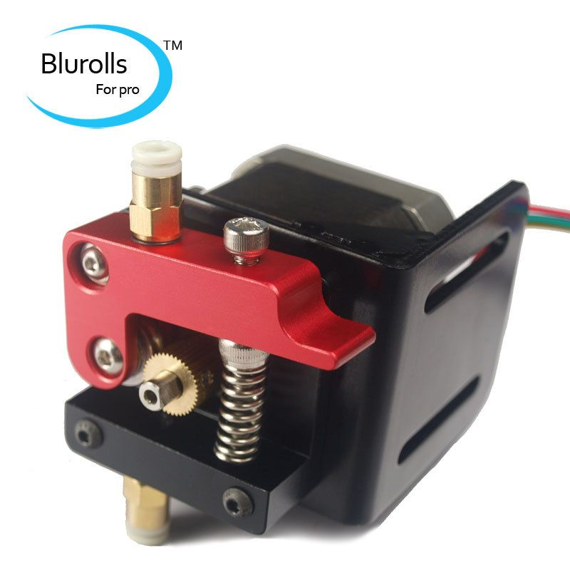3d printer parts right-hand bowden extruder kit/set (no motor) compact extruder aluminum alloy for 1.75mm filament