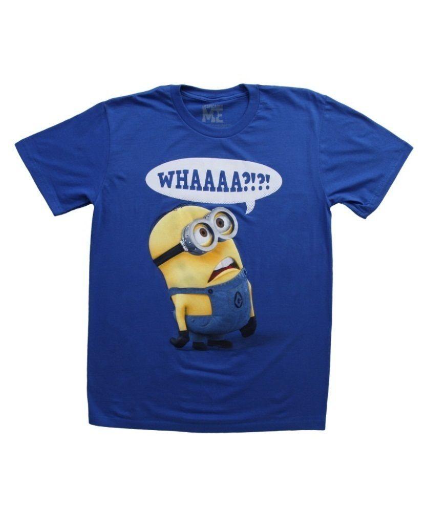 Minions Movie Kids T Shirt Whaaaa?? Buy this cute Despicable Me tee shirt at http://shirtminion.com/minionswhaaaashirt