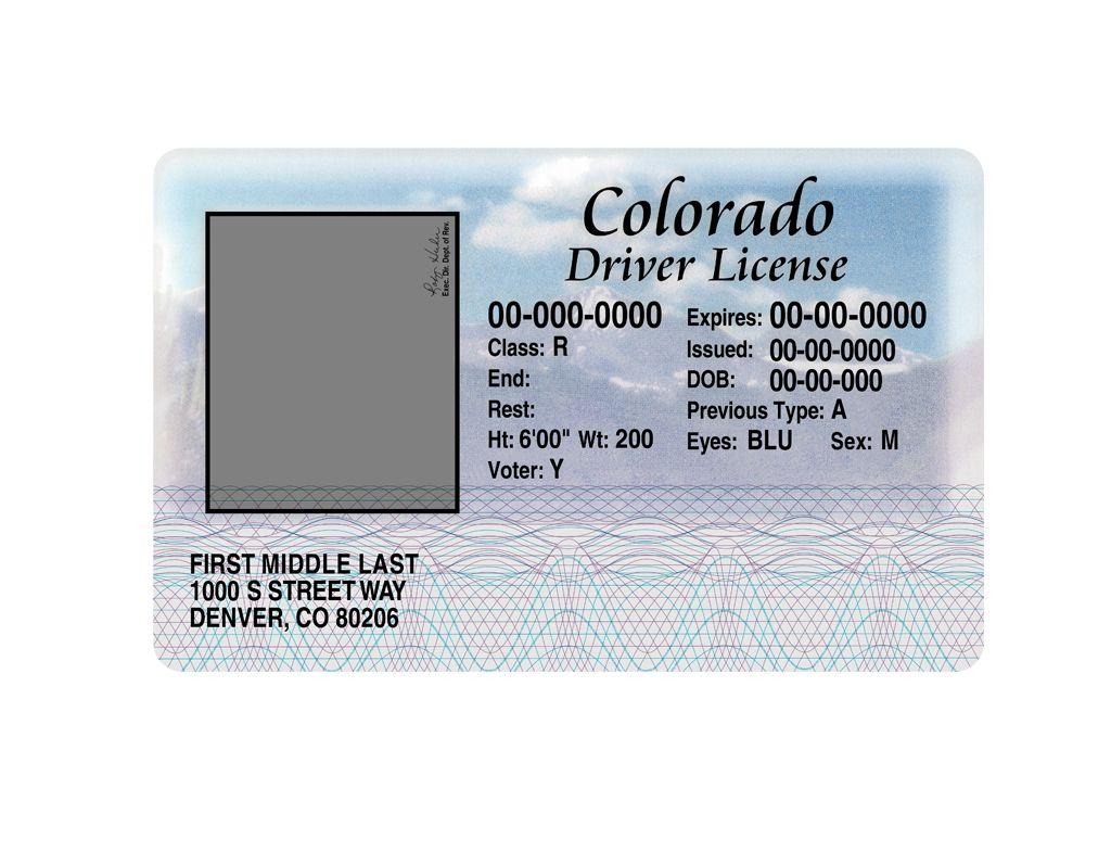 Colorado Driver License Psd Template Drivers License Psd Templates Photoshop Program