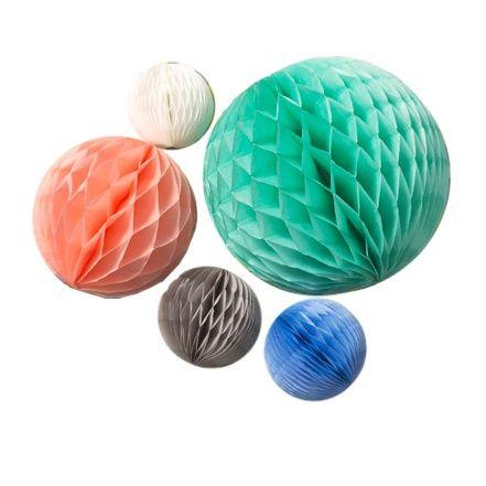 Honeycomb Pastel - set van 5   Engelpunt   Gras onder je voeten