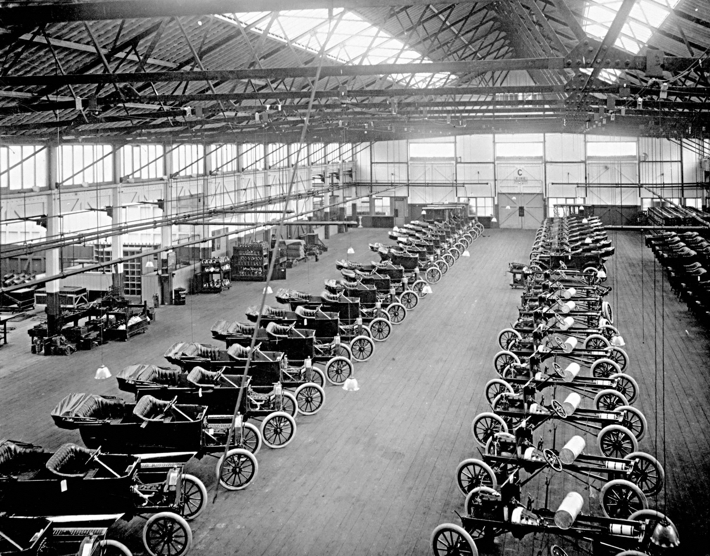 Ford Trafford Park Factory Manchester Uk 1911 The First