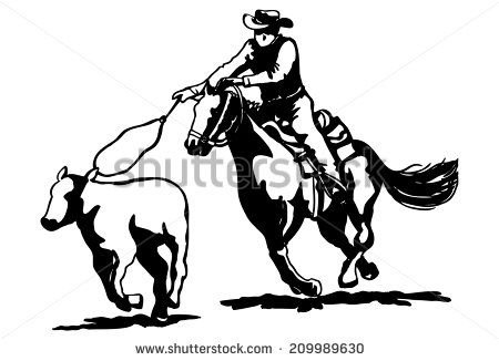 Rodeo Horse Stock Photos Images Pictures Calf Roping Horse Clip Art Roping Horse