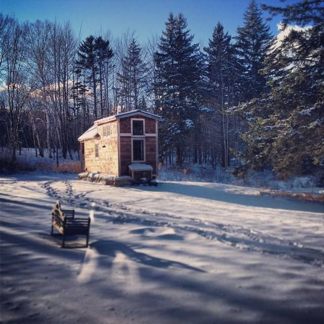 Ethan Waldman S Tiny House On Wheels In Vermont Building