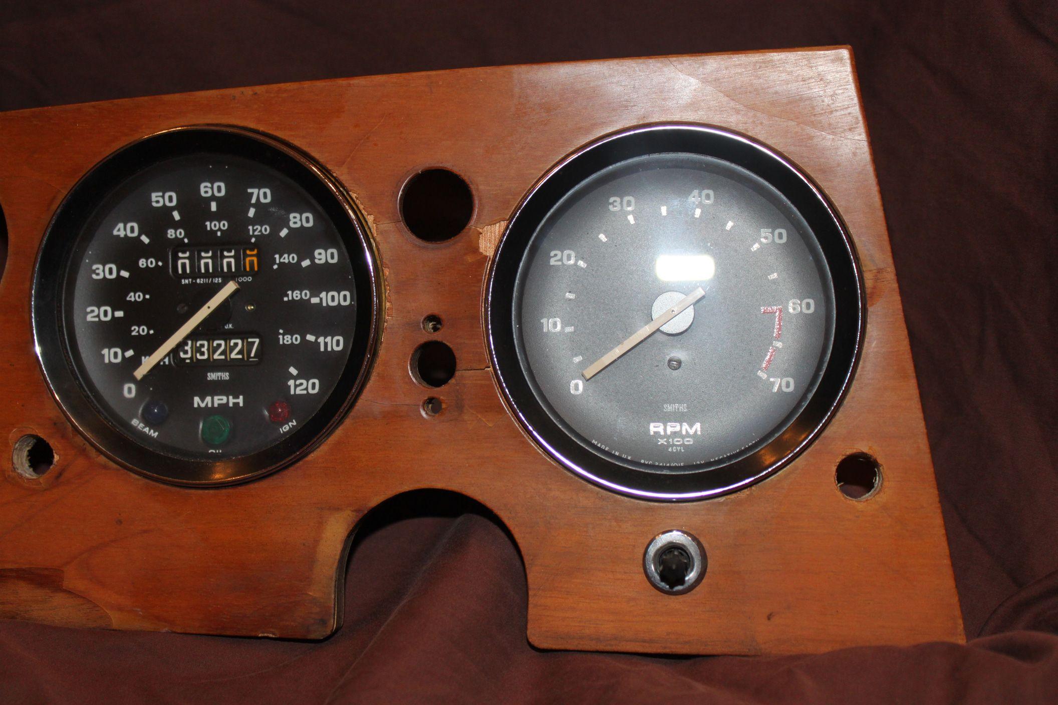 Moving a Spitfire Odometer Reset Knob | Moss Motoring