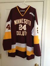 differently e1a18 2c219 Details about U of Minnesota at Duluth (UMD) White Hockey ...