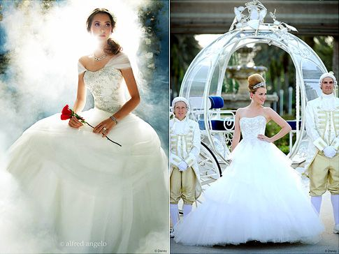 Disney Creates Princess Inspired Wedding Gowns