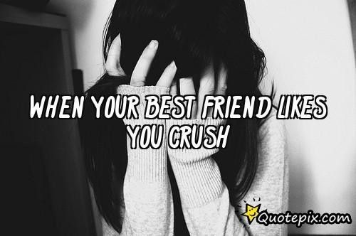 what to do if your crush likes your best friend