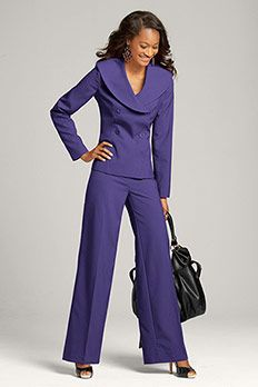 Ultra Violet Suite Clothing Styles Suits Fashion Pantsuits For