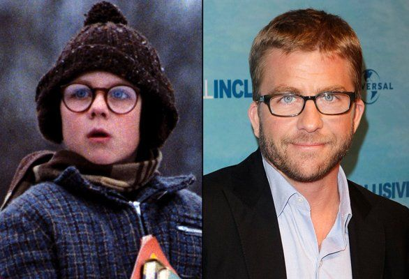 Then  Now Holiday Movie Kids Peter billingsley, Holiday movies