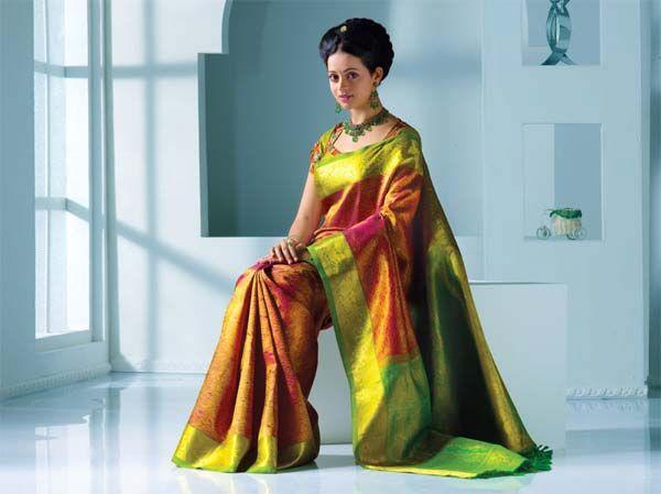 Actress bhavana in pulimoottil kancheevaram silks kerala womens actress bhavana in pulimoottil kancheevaram silks altavistaventures Image collections