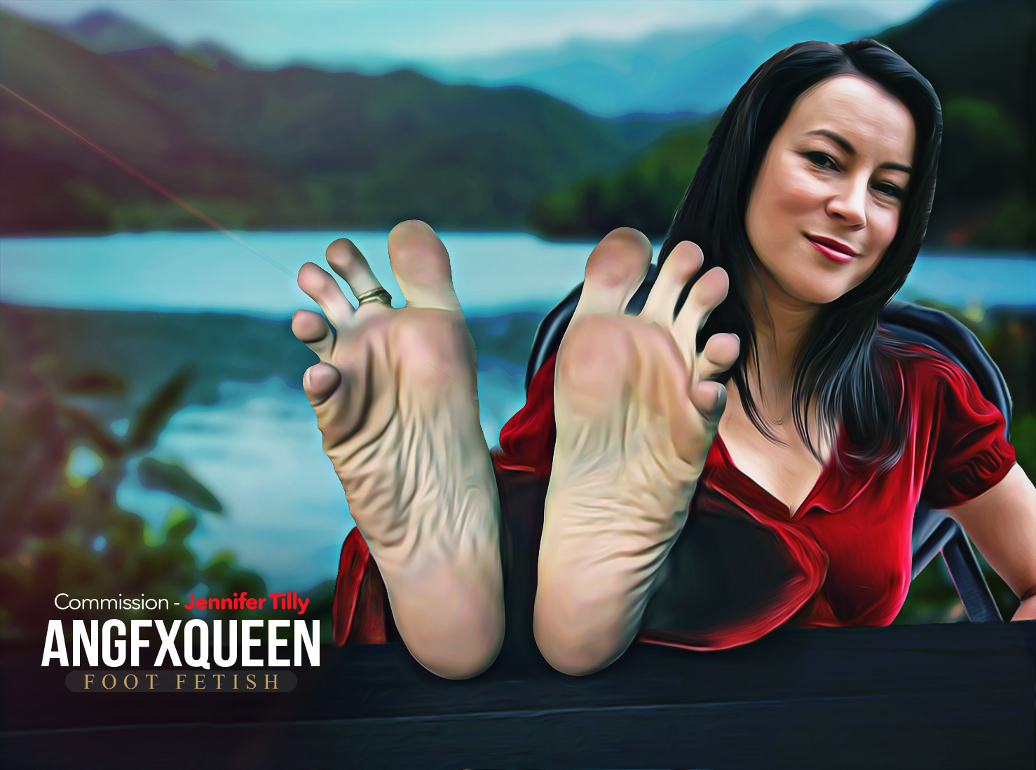 Foot fetish commission