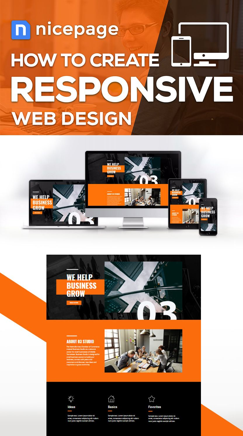 How to create Responsive Web Design Today it is important ...