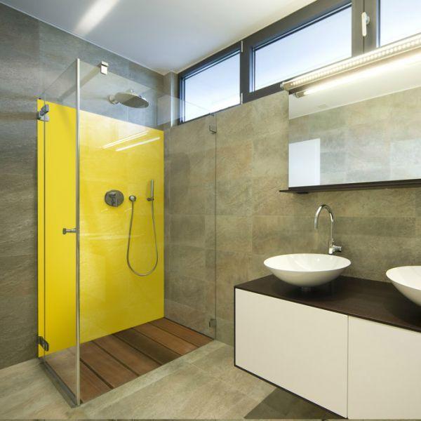 Panneau jaune RAL 1023 - Crédences & panneaux décoration ...