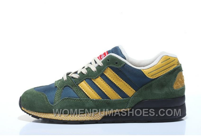 uk availability cca68 bcffe Now Buy Adidas Women Green Yellow New Release Save Up From Outlet Store at  Pumaslides. http   www.womenpumashoes.com adidas-zx710-men-