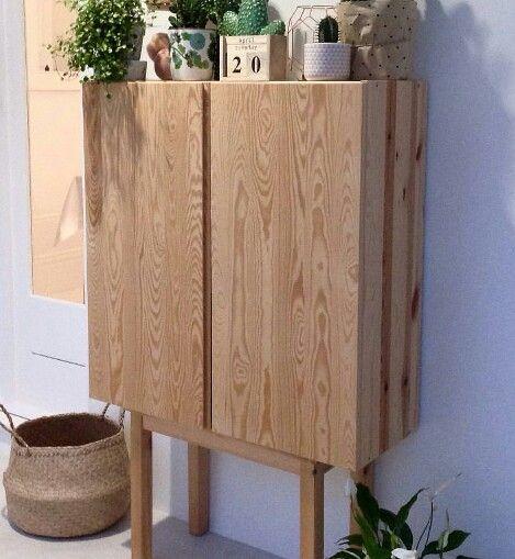 ikea ivar cabinet hack lega diy interior in 2018 pinterest m bel ivar schrank und wohnzimmer. Black Bedroom Furniture Sets. Home Design Ideas