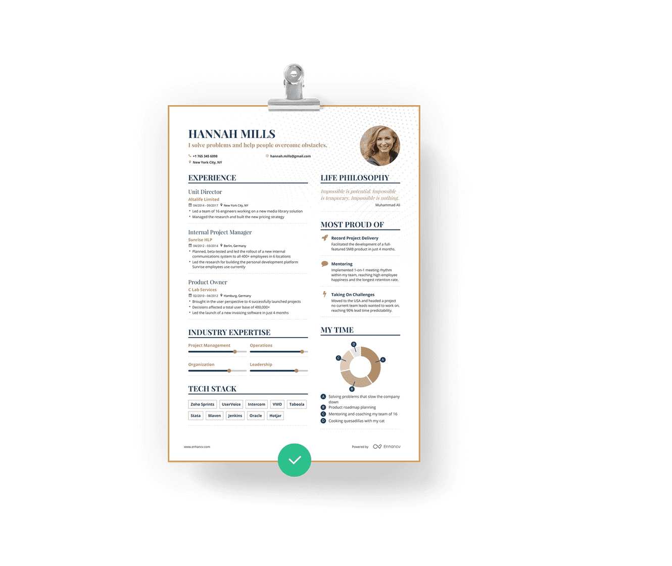 Resume that stands out Free resume builder, Good resume