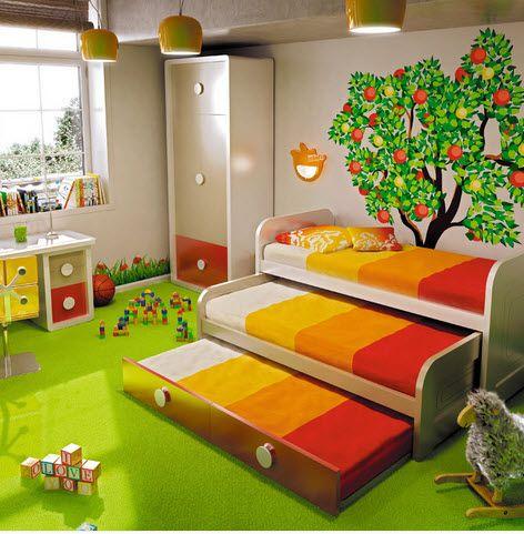 El espacio no siempre es el problema. #Dormitorio #Juvenil #diseño ...