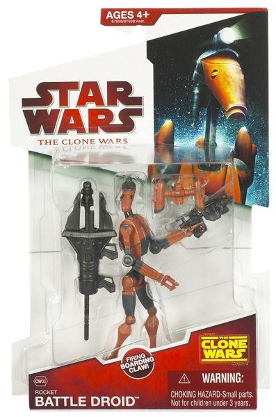 Star Wars Galactic Heroes Clone Wars Rocket Battle Droid