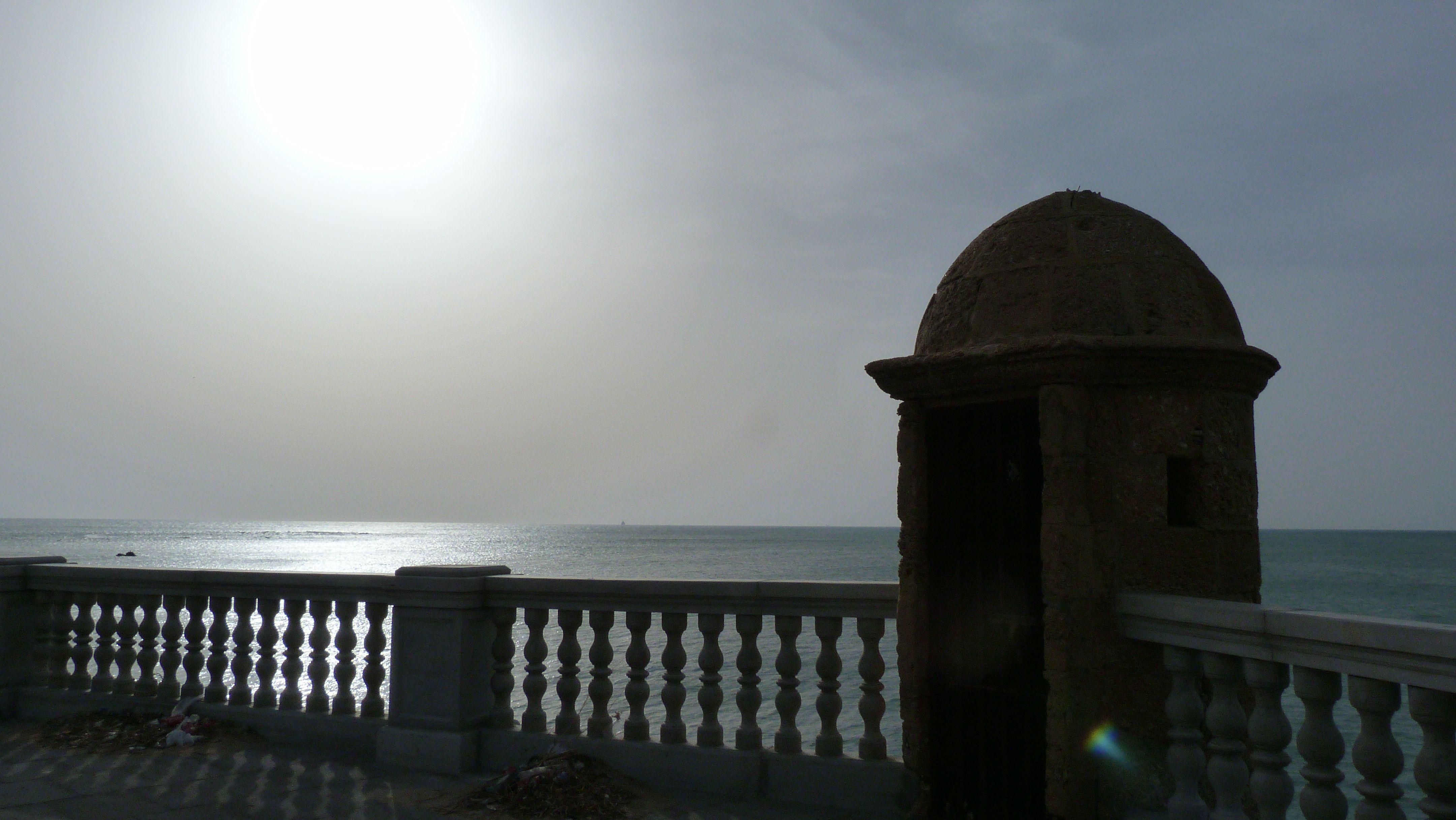 Puesta de sol en Cádiz....deseando volver
