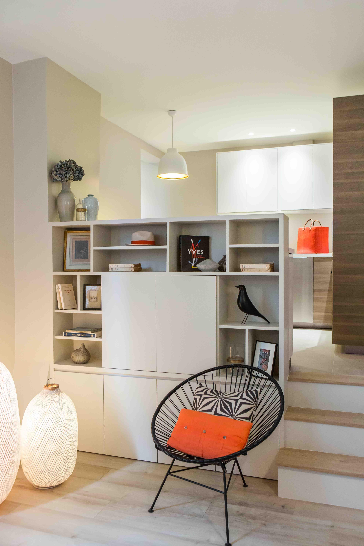 Séjour - Appartement Paris 17ème, 40m2   Projects