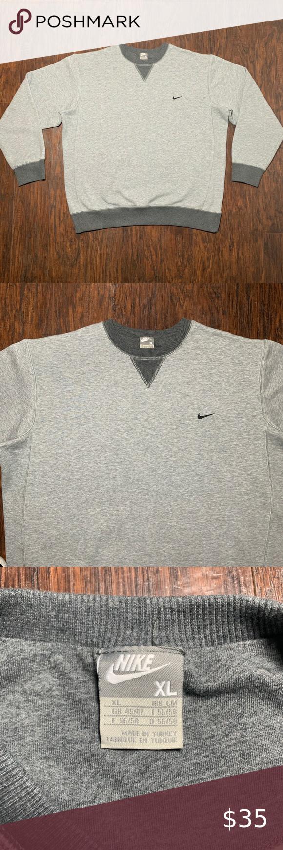 Nike Crewneck Sweatshirt Nike Crewneck Sweatshirt Nike Crewneck Crew Neck Sweatshirt [ 1740 x 580 Pixel ]