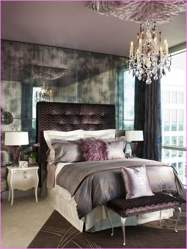 Old Hollywood Glamour Bedroom Design