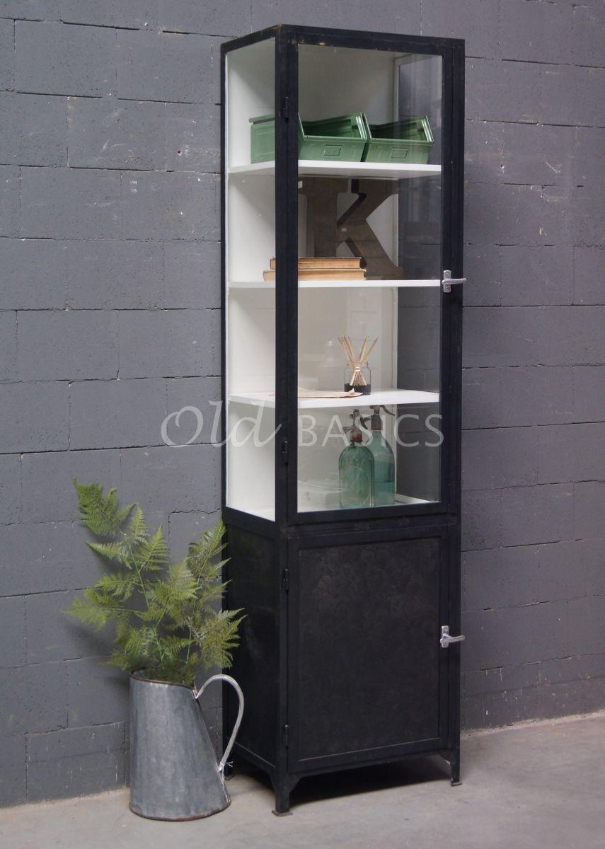 Apothekerskast Demi 1-IND | Old BASICS - Kast glazen | Pinterest ...