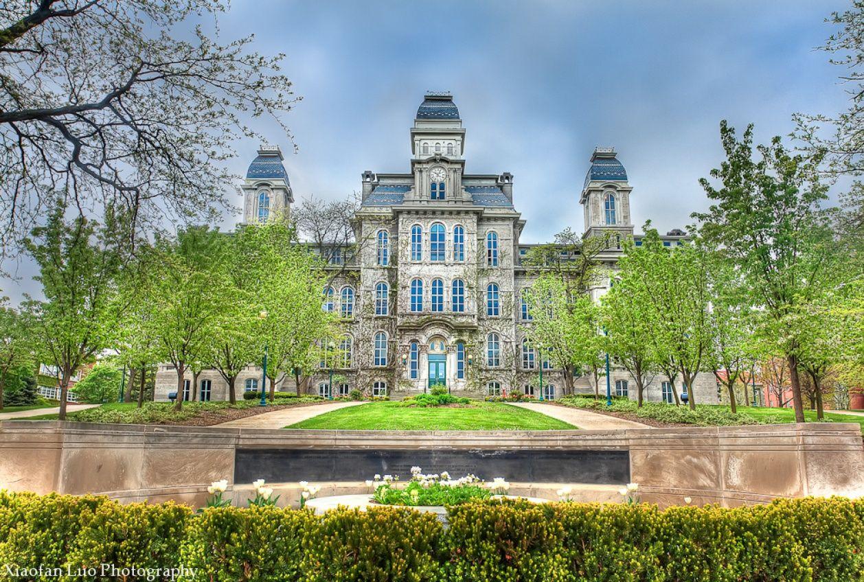 Syracuse university campus tour