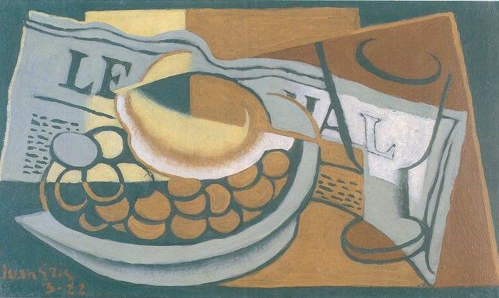 JUAN GRIS. Le citron, 1922