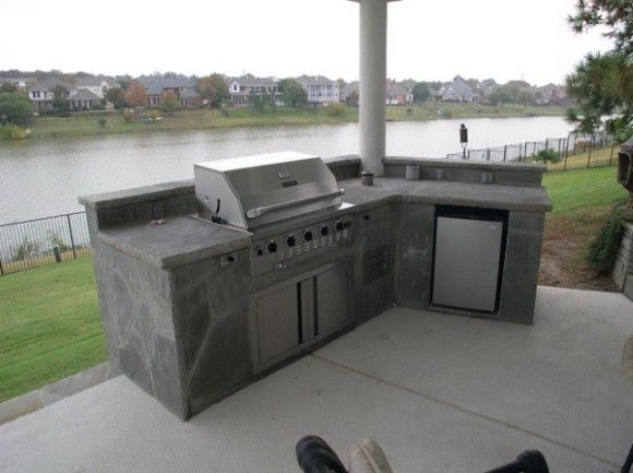 Outdoor Kitchen Design That Blocks Your View Stupid  Just Plain Amazing Outdoor Kitchen Layout Review