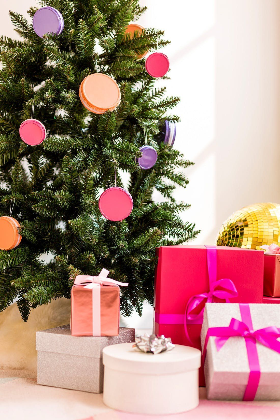 These Quirky Christmas Trees Were Made For The Color Lover Colorful Christmas Tree Decor Colorful Christmas Tree Christmas Tree Decorations