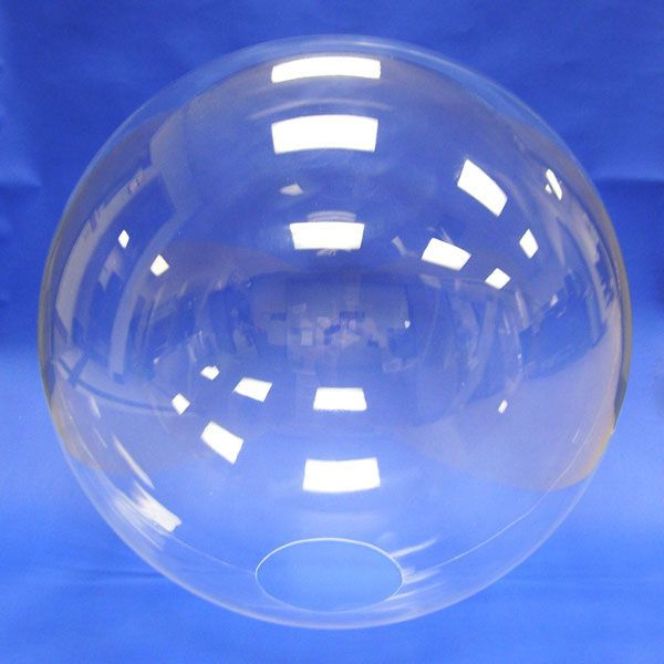 10 Clear Acrylic Sphere With Hole Seamless Plastic Domes And Spheres Clear Acrylic Spheres Sphere