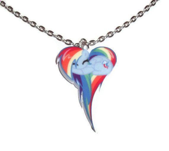 Kawaii rainbow dash necklace my little pony friendship is magic kawaii rainbow dash necklace my little pony friendship is magic mozeypictures Gallery
