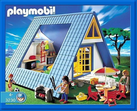 Playmobil 3230 maison de vacances playmobil for Maison moderne lego